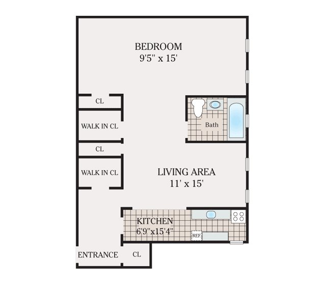 Floor Plans New Brunswick Arms Apartments For Rent In New Brunswick Nj